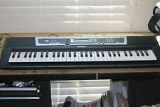Yamaha YPT-210 Electronic Digital Keyboard Piano Synthesizer w/Power Supply MIDI