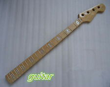 Electric Bass Guitar Neck  Replacement Maple Wood 20 Fret Repair parts