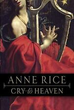 Cry to Heaven, Rice, Anne, Good Book