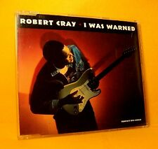 MAXI Single CD Robert Cray I Was Warned 3TR 1992 Blues, Rock RARE !!!