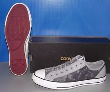 """CONVERSE """"CHUCK TAYLOR"""" CT OVERLAY OX in colors SMOKE GRAY MENS 7 WOMENS 9"""
