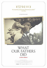 WHAT OUR FATHERS DID A NAZI LEGACY MANIFESTO NIKLAS FRANK PHILIPPE SANDS