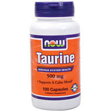 Taurine 100 Caps 500 mg by Now Foods