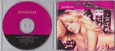 Mariah Carey - Never Too Far / Don't Stop - Deleted UK 4trk Enhanced CD single
