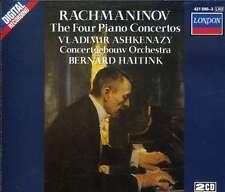 RACHMANINOV / THE 4 PIANO CONCERTOS -CONCERTGEBOUW ORCHESTRA, HAITINK, ASHKENAZY