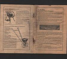 WURZEN, Prospekt 1930, Adolf Busse Senior-Kultur-Geräte GmbH Landwirtschaft