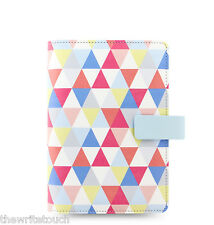 New Filofax Personal Size Geometric Organiser Planner Note Diary  - 027039