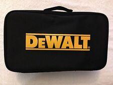 """New Dewalt Heavy Duty Black Ballistic Nylon Tool Bag 16"""" With 1 Inside Pocket"""