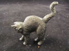 Collectible Franklin Mint Curio Cabinet American Pewter Cat No Box