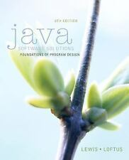 Java Software Solutions by William Loftus and John Lewis (2014, Paperback)