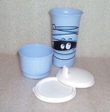 Tupperware 10oz Bell Tumbler Sipper Seal Sippy Kids Snack Cup Halloween Mummy