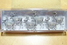 HO 1:87 scale  Preiser REINDEER FIGURES  * for CHRISTMAS Diorama *