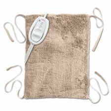 Electric Heating Pad With Straps Joint Back Pain Relief Therapy XpressHeat Beige