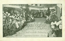 Rochester,NY. Japanese Tea Garden,1910 Flower Show,November 1-5,Convention Hall