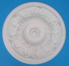 "Ceiling Rose - Polystyrene - 'Country House' - Size 330mm (13"")"