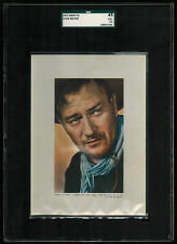 SGC 3.5  JOHN WAYNE 1953 Kwatta Chocolates Film Stars EXTRA LARGE CARD VERY RARE