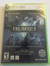 Final Fantasy XI Online: Wings of the Goddess Expansion Pack - Xbox 360 New