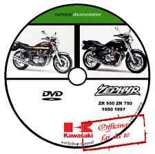 MANUALE OFFICINA KAWASAKI ZR550 ZR750 ZEPHYR 1990 1997 WORKSHOP MANUAL SERVICE