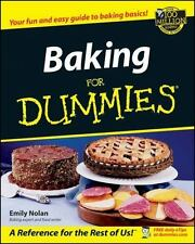 Baking For Dummies - VeryGood - Nolan, Emily - Paperback