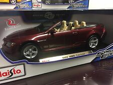 Maisto 1:18 Scale Special Edition Diecast Model Car - BMW M6 Cabriolet (Red)