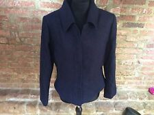 Bruce by Bruce Oldfield size 16  Bruce Oldfield Navy Blue Jacket 100% Cotton