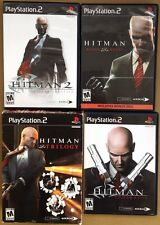 Hitman Trilogy (Sony PlayStation 2, 2007) PS2 games Lot
