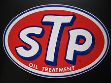 NOS Large Vintage STP Oval Toolbox NASCAR Racing Decal Sticker Garage Shop Rod