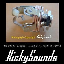 Switched Mono Socket for Rickenbacker Bass Or Guitar