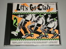 ARCADE LET'S GO CRAZY VOL.2  1990 CD MIT MATT BIANCO DOLLY DOTS MEATLOAF WHAM