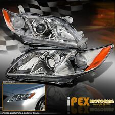 PREMIUM Quality 2007 2008 2009 Toyota Camry Projector Headlights Headlamp Chrome