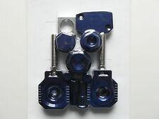 MX CNC Color Parties Kit KTM SX SXF 125-505 07 08 09 10 11 12 bleu