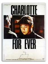 Affiche 120x160cm CHARLOTTE FOR EVER 1986 Serge Gainsbourg, Charlotte Gainsbourg
