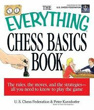 The Everything Chess Basics Book, Us Chess Federation, Kurzdorfer, Peter, Good B