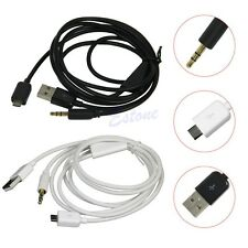 Micro to 3.5mm Jack USB Lead Samsung Galaxy S3 S4 mini - AUX Car NUZ2
