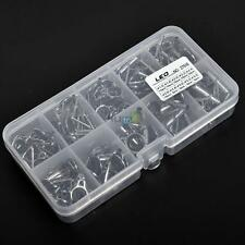 80Pcs Set Small Freshwater Fishing Rod Guides Parts Tip Tops Alloy Repair Kit