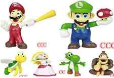 New Lot 7Pcs Super Mario bros mini figures Figurine Toy Doll