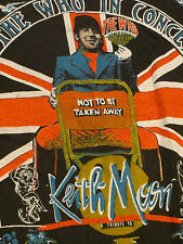Very Rare Vintage 1980 The Who Keith Moon concert tour shirt NOS ORIGINAL