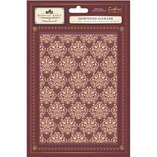 New Crafters Companion Downton Abbey Embossing Folder Downton Damask