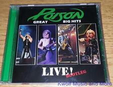 """POISON  """"Great Big Hits Live! Bootleg """"    NEW   (CD, 2006)"""