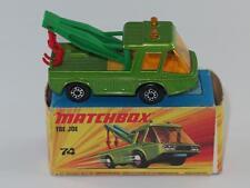 MATCHBOX SUPERFAST 74 Toe Joe NM Darker Green in I2 Box 5 Arch Wheels