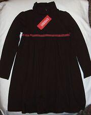 Gymboree Fall Homecoming brown knit dress pink ribbon bow NWT 6