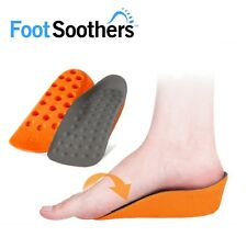FootSoothers® In-Sock Arch Support Inserts ORG Height Increase Heel Lift Insoles