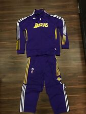 ADIDAS LOS ANGELES LAKERS RARE WARM UP NBA BASKETBALL TRACK SUIT MENS LARGE XL