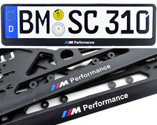 BMW 5 Série E60 F10 Plaque d'immatriculation Porte-plaque M Performance LOGO