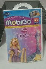 Vtech MobiGo Game Disney Tangled Educational Game COLORS LETTERS MEMORY +++