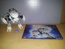 LEGO BIONICLE BOHROK - 8565 - GAHLOK - GREAT CONDITION, INC KRANA & INSTRUCTIONS