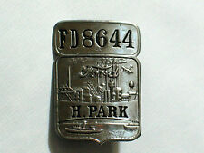 Ford Employee Badge Pin Vintage Ford H. Park Plant Badge (Highland ORIG #FD8644)