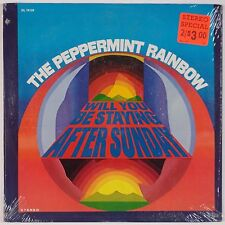 THE PEPPERMINT RAINBOW: Will You Be Staying Sunday SHRINK '69 Psych LP NM!