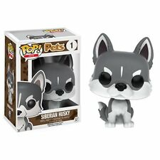 "Siberian Husky Funko Pets Dog Animal Pop 3.75"" Vinyl Figure"