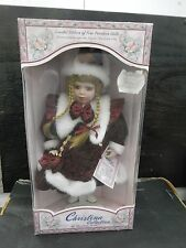 Christina Collection PORCELAIN DOLL - Holiday 2004 - Limited Edition - Near Mint